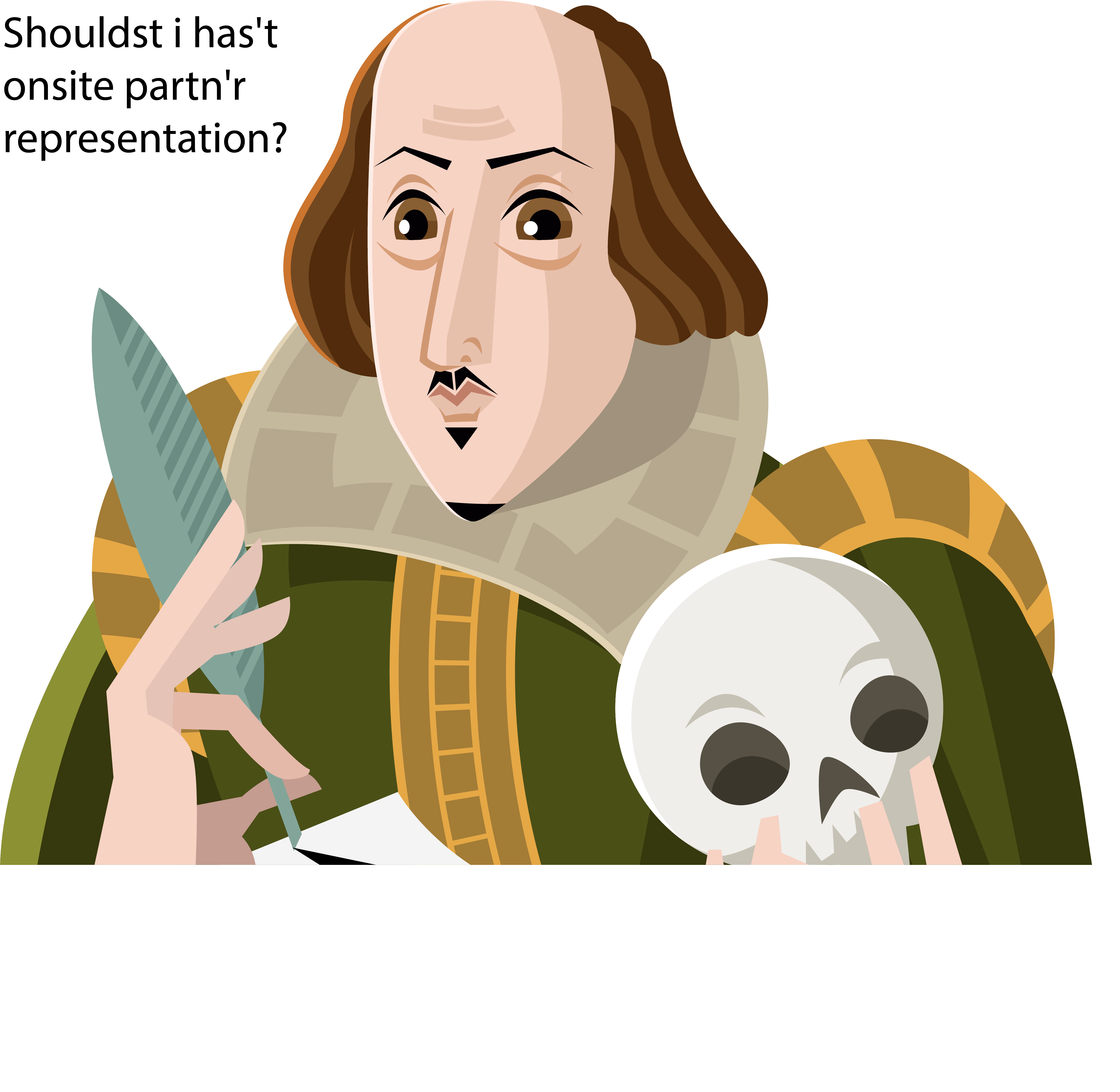 Shakespeare 101: Don't be a Hamlet. Is Onsite Outsource Partner Representation Right For Your Organization?